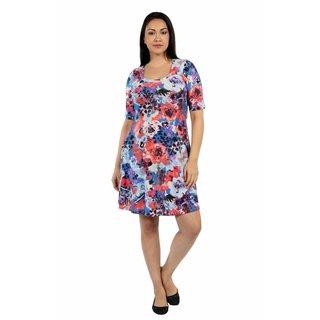 24/7 Comfort Apparel Springtime Celebration Plus Size Dress