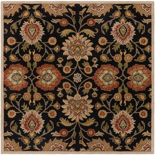 Hand-Tufted Algernon Wool Rug-(9'9 Square)