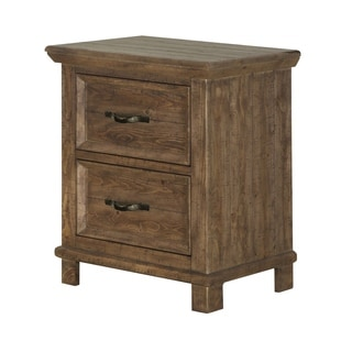 Canyon Road 2 Drawer Nightstand in Soft Caramel