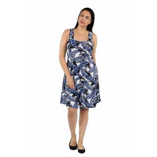 24/7 Comfort Apparel Flirty Friday Plus Size Dress