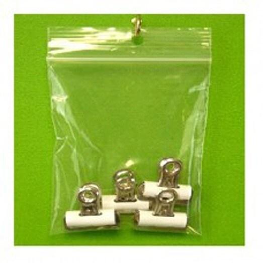 Clear Polyethylene 3-inch x 5-inch 4-mil Reclosable Zippe...