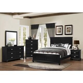Simmons Nantucket 3 Piece Queen/ King Bedroom Set (Option: Black)