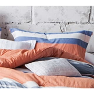 BYB Cozy Stripes Cotton Standard Sham