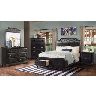 Picket House Furnishings Mysteria Bay King Storage Bed
