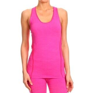 Active Sport Women's Fashion Seamless Yoga Zigzag Tank Top