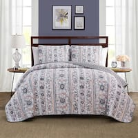 Style Decor Laura 3-piece Quilt Set