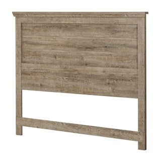 South Shore Lionel Full/Queen Headboard (54/60''), Weathered Oak
