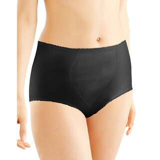 Bali Women's Cotton Blend Light Control Tummy Panel Brief (2-pack)