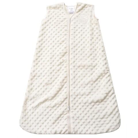 Halo Cream SleepSack Plush Velboa Medium Wearable Blanket