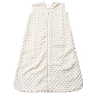 Halo Cream SleepSack Plush Velboa Medium Wearable Blanket