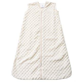 Halo Cream Plushy Dot SleepSack Velboa Wearable Blanket Large