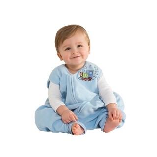 Halo Blue Early Walker SleepSack Micro Fleece Wearable X-Large Blanket