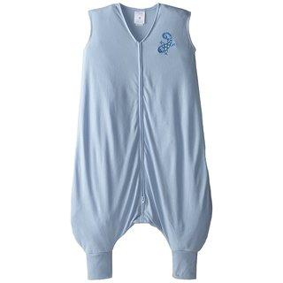 HALO Blue Early Walker SleepSack Lightweight Knit Wearable Blanket X-Large
