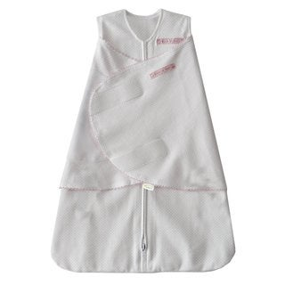 Halo Pink Pin Dot SleepSack Cotton Small Swaddle