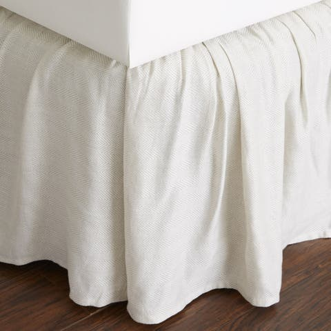 Savannah 18-inch Drop Bed Skirt
