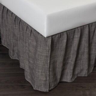 Lucas Charcoal Bed Skirt