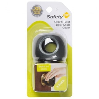 Safety 1st Grip 'n Twist Door Knob Covers Decor (3 Pack)