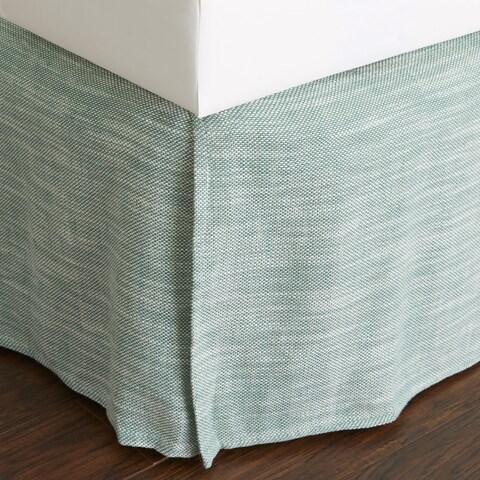 Jaccob Teal 18-inch Drop Bed Skirt