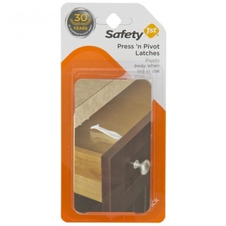 Safety 1st Press 'n Pivot Latch (4 Pack)