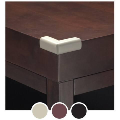 "Kidco 2""H Foam Corner Protector, Brown - 4 Pack"