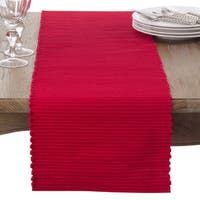Cotton Mattor Ribbed Table Runner