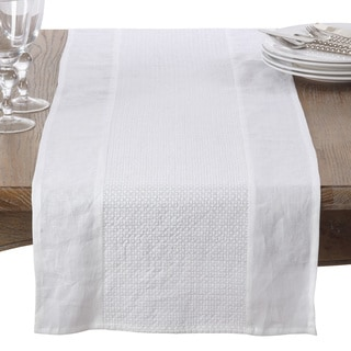 Embroidered Design Cotton Table Runner