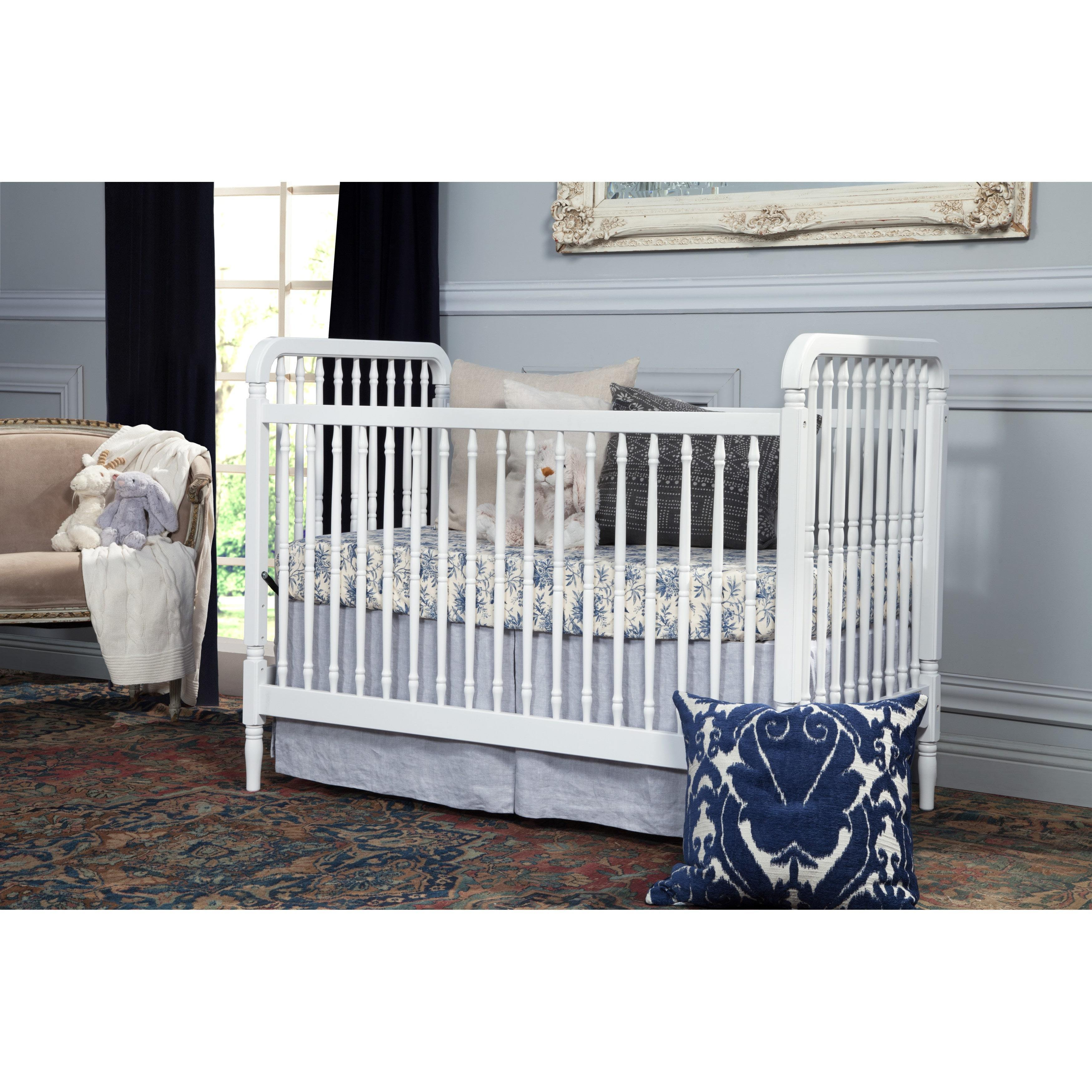 Million Dollar Baby Liberty 3-in-1 Convertible Crib (Whit...
