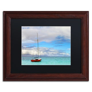 Jason Shaffer 'Hawaii 3' Matted Framed Art
