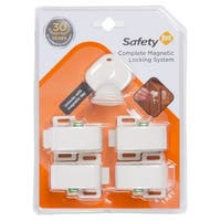 Safety 1st Complete 4-lock and Key Magnetic Locking System