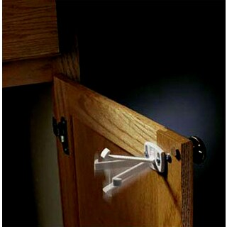 Kidco Swivel Cabinet and Drawer Locks (Case of 12)