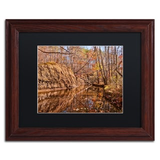 Jason Shaffer 'Beaver Creek 6' Matted Framed Art