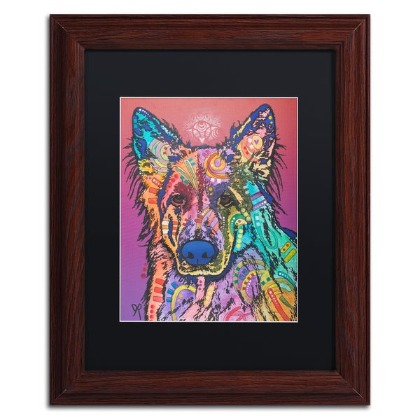 Shop Dean Russo 'Timber' Matted Framed Art - Free Shipping