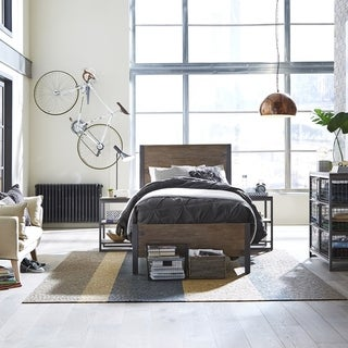 Taylor & Olive Liberty Metro Grey Twin Bed