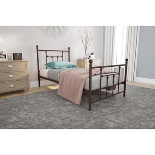 DHP Manila Bronze Metal Bed