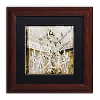Color Bakery 'Chand 2' Matted Framed Art - Grey