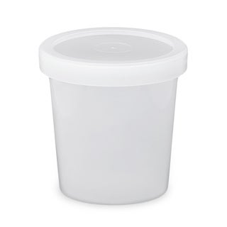 ePackageSupply Translucent 16-ounce Freezer-grade Round Lidded Container