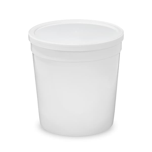 Shop Epackagesupply White Plastic 32 Ounce Round Food