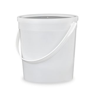ePackageSupply Translucent 0.25-gallon 32-ounce Food-grade Round Lidded Bucket