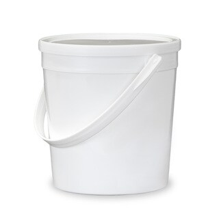 ePackageSupply White 0.25-gallon 32-ounce Food-grade Round Lidded Bucket