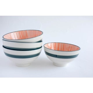 Caravan Porcelain Bowls (Pack of 4)