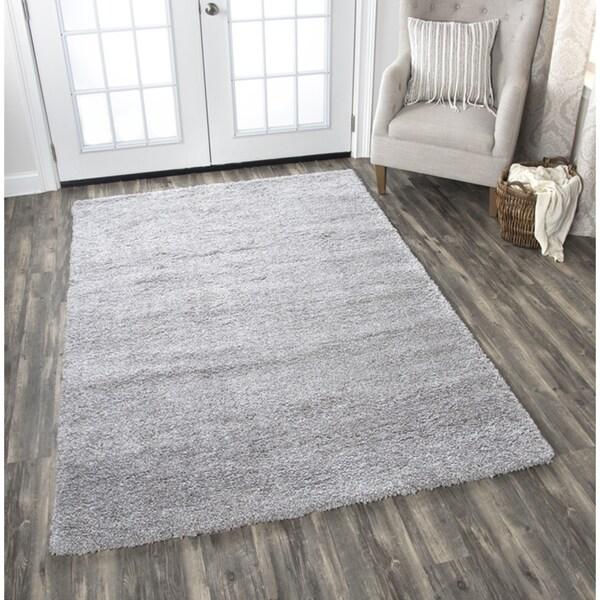 Adana Grey Solid Area Rug - 7'10 x 10'6
