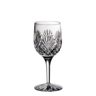 Majestic Gifts Clear Crystal 7-ounce Hand-cut Wine Goblets (Pack of 4)