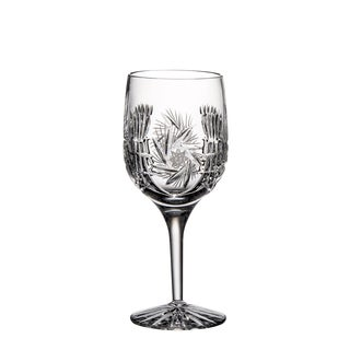 Majestic Gifts Hand Cut Crystal 7-ounce Wine Goblet (Set of 4)