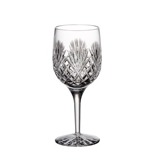 Majestic Gifts Hand Cut Crystal 9-ounce Wine Goblets (Pack of 4)
