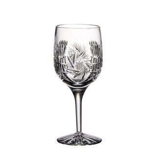 Majestic Gifts Hand-cut Crystal 9-ounce Wine Goblet (Pack of 4)