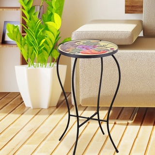 Chinese Pattern Glass Side Table