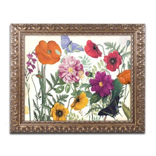 Color Bakery 'Printemps I' Ornate Framed Art