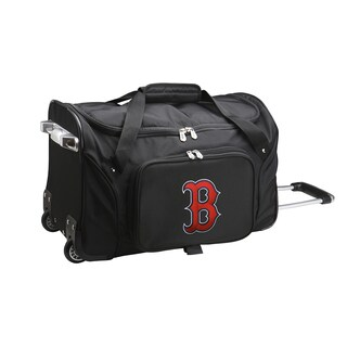 Denco Boston Red Sox 22-inch Carry-on Rolling Duffel Bag