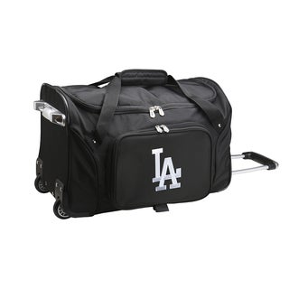 Denco Los Angeles Dodgers 22-inch Carry-on Rolling Duffel Bag