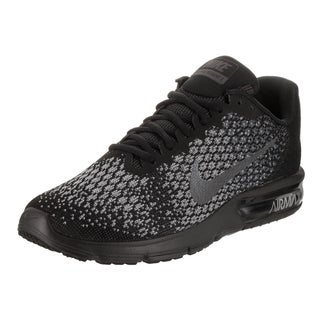 Nike Men's Air Max Sequent 2 Black Running Shoes